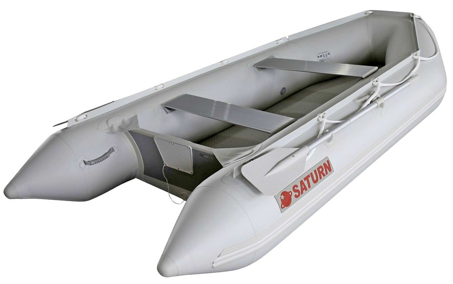 11' Saturn Inflatable Boat SD330 - Angled Side View