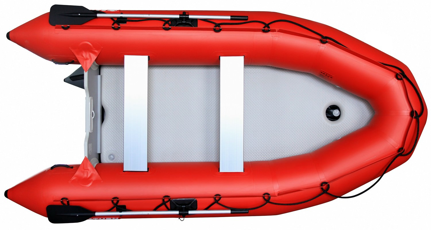 12' Saturn Inflatable Boat - Top