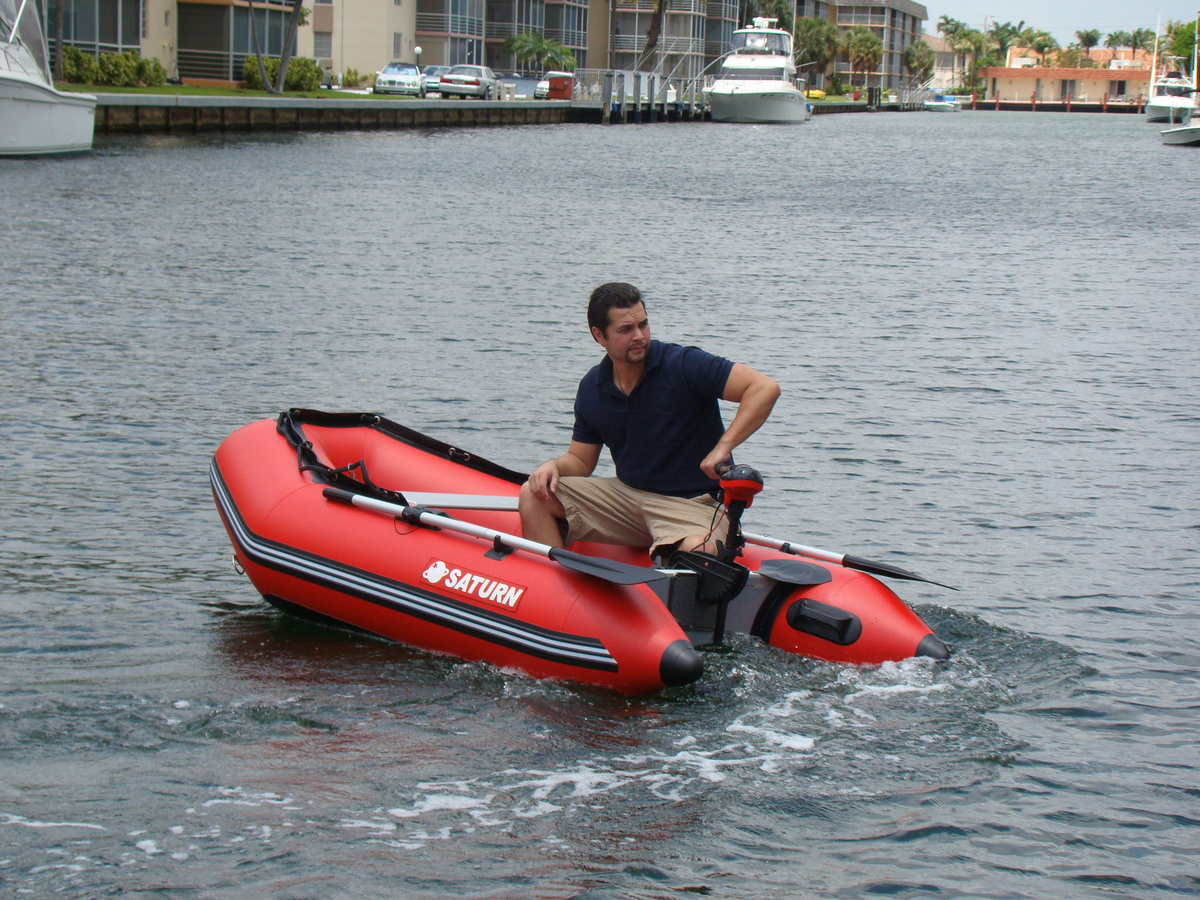 "8'6"" SS260 Saturn Dinghy - Slated Floor Design with Elector Motor"