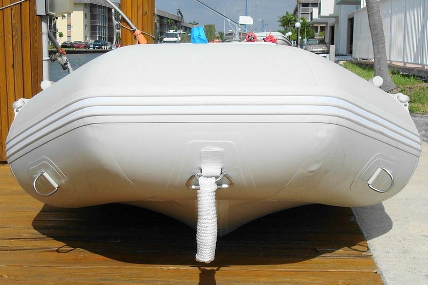 "Saturn 7'6"" SD230 Dinghy - Front"