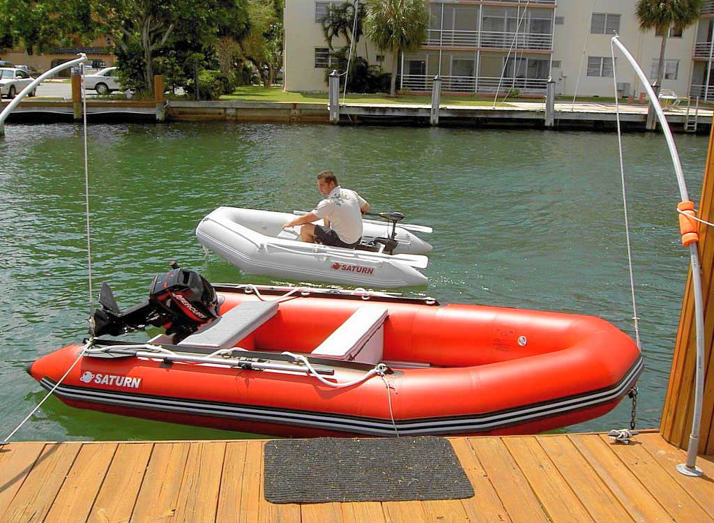 """Older Version 8'6"""" Saturn Dinghy SD260 and SD385"""
