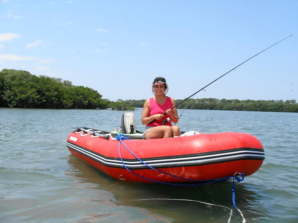 Customer Photos - 12' Saturn SD365 Inflatable Boat Fishing