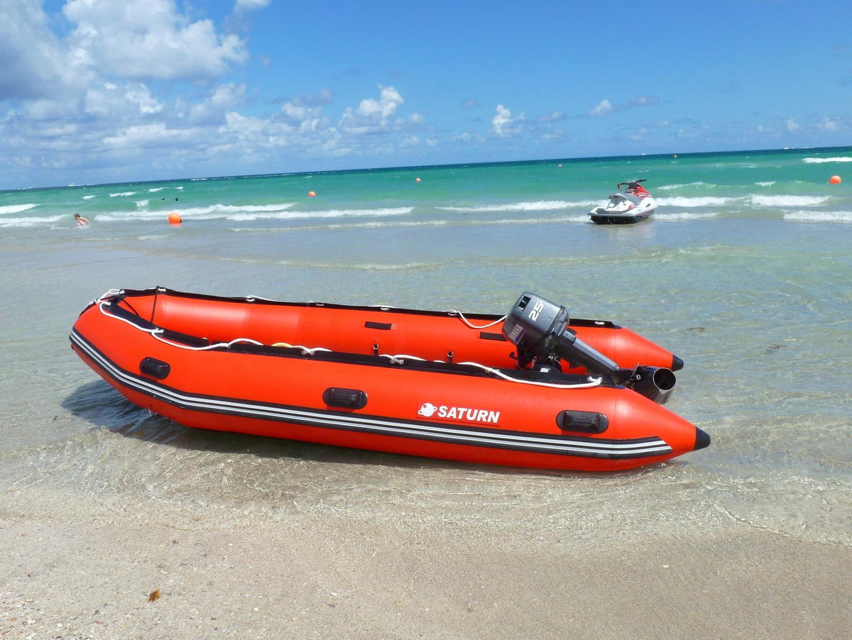 14' Saturn Inflatable Boat