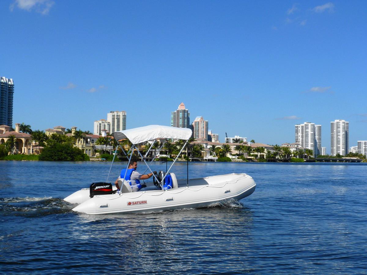 Customer Photo - 15' Saturn Inflatable Boat - SD470 - w/ Aluminum Floor