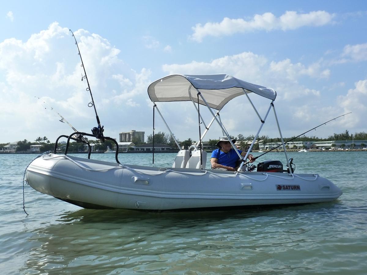 Customer Photo - 15' Saturn Inflatable Boat - SD470 - w/ Aluminum Floor - Fishing Boat