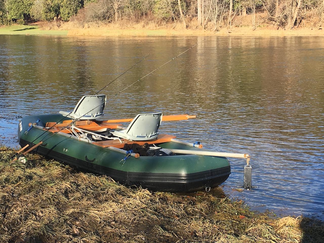 "Brand New 2017 12'6"" Saturn Whitewater Raft - Customer J. Campbell"
