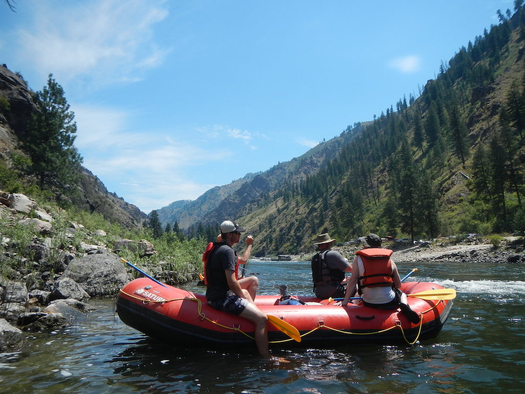 Customer Photo - 14' Saturn Whitewater Raft - Salmon River Trip