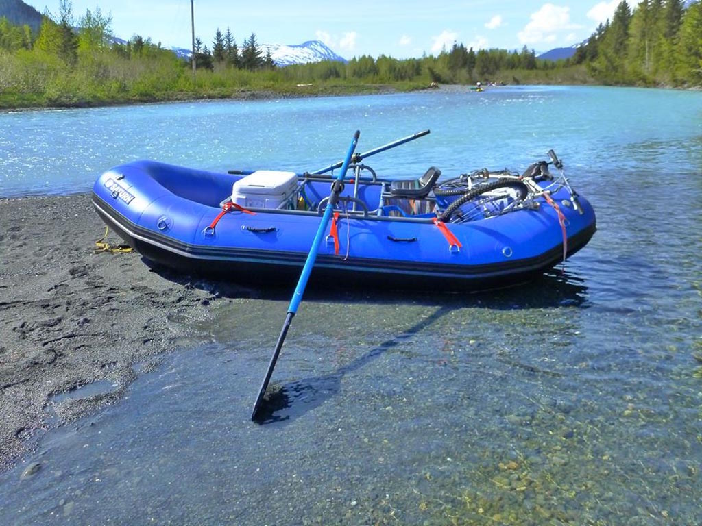 Customer Photo - 14' Saturn Whitewater Raft - Alaska Raft Connection Float