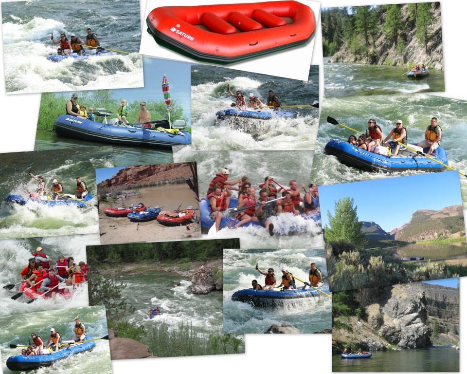 16' Saturn Whitewater Raft RD488 Photo Compilation