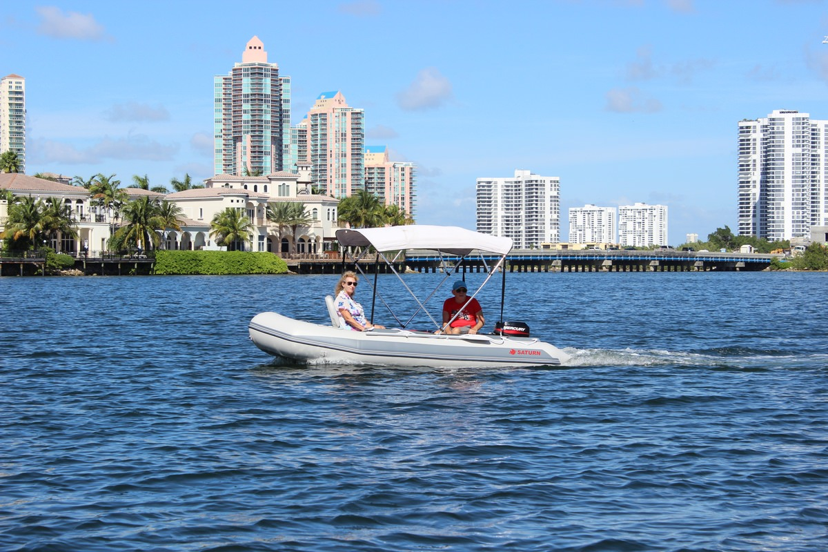 13 5' Inflatable Boat SD410