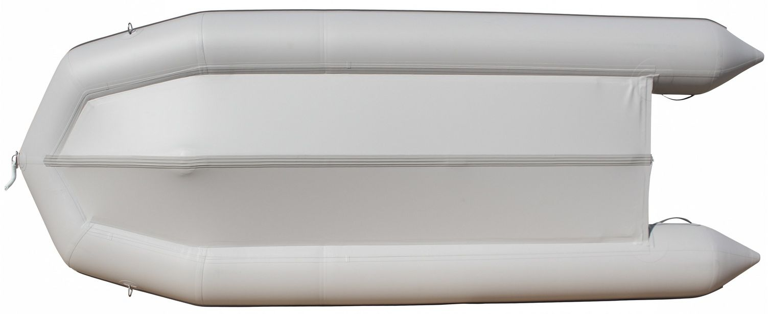 15' Saturn Inflatable SD460 Budget Boat - Grey Bottom View