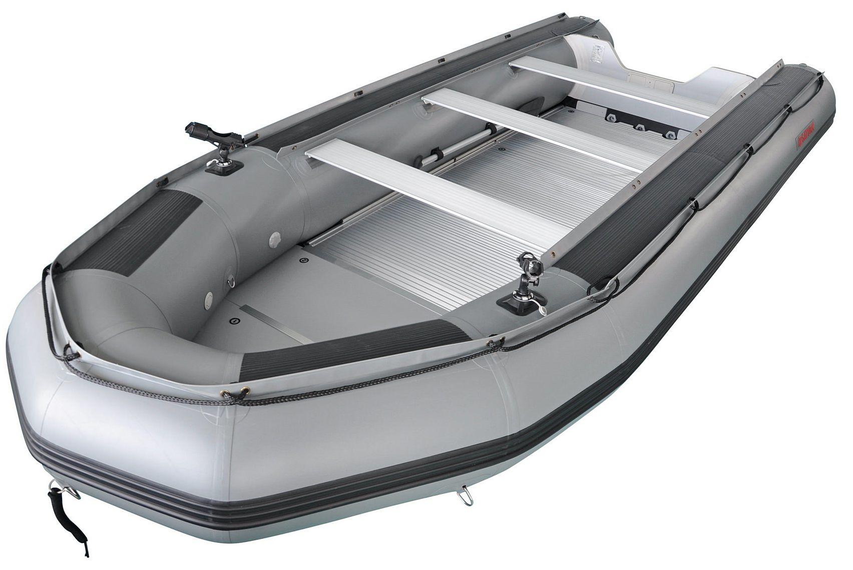 Inside the 15' Saturn Heavy-Duty Fishing Boat