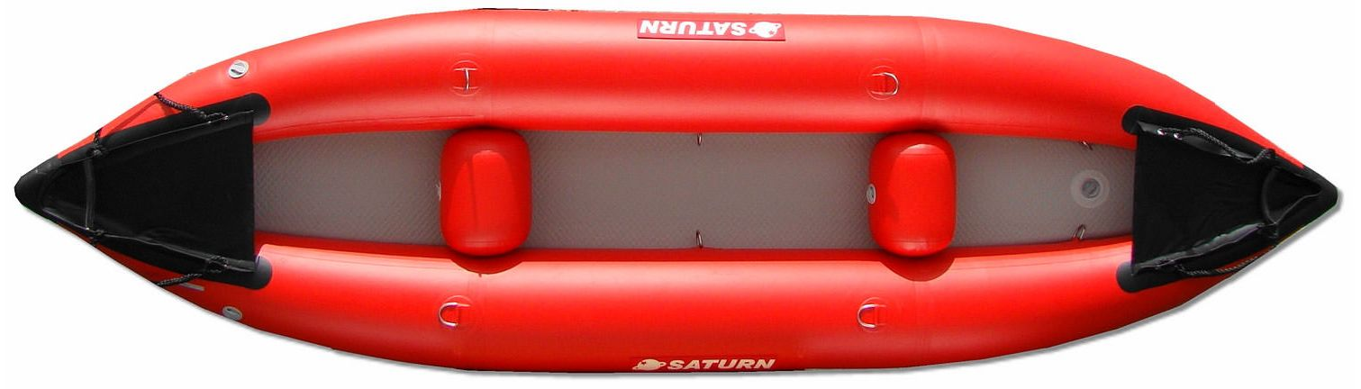 13' Saturn Inflatable Expedition Kayak - Red