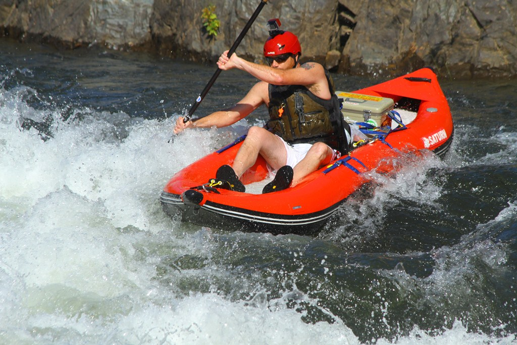 13' Saturn Whitewater Kayak - Customer Photo in Owyhee River Canyon