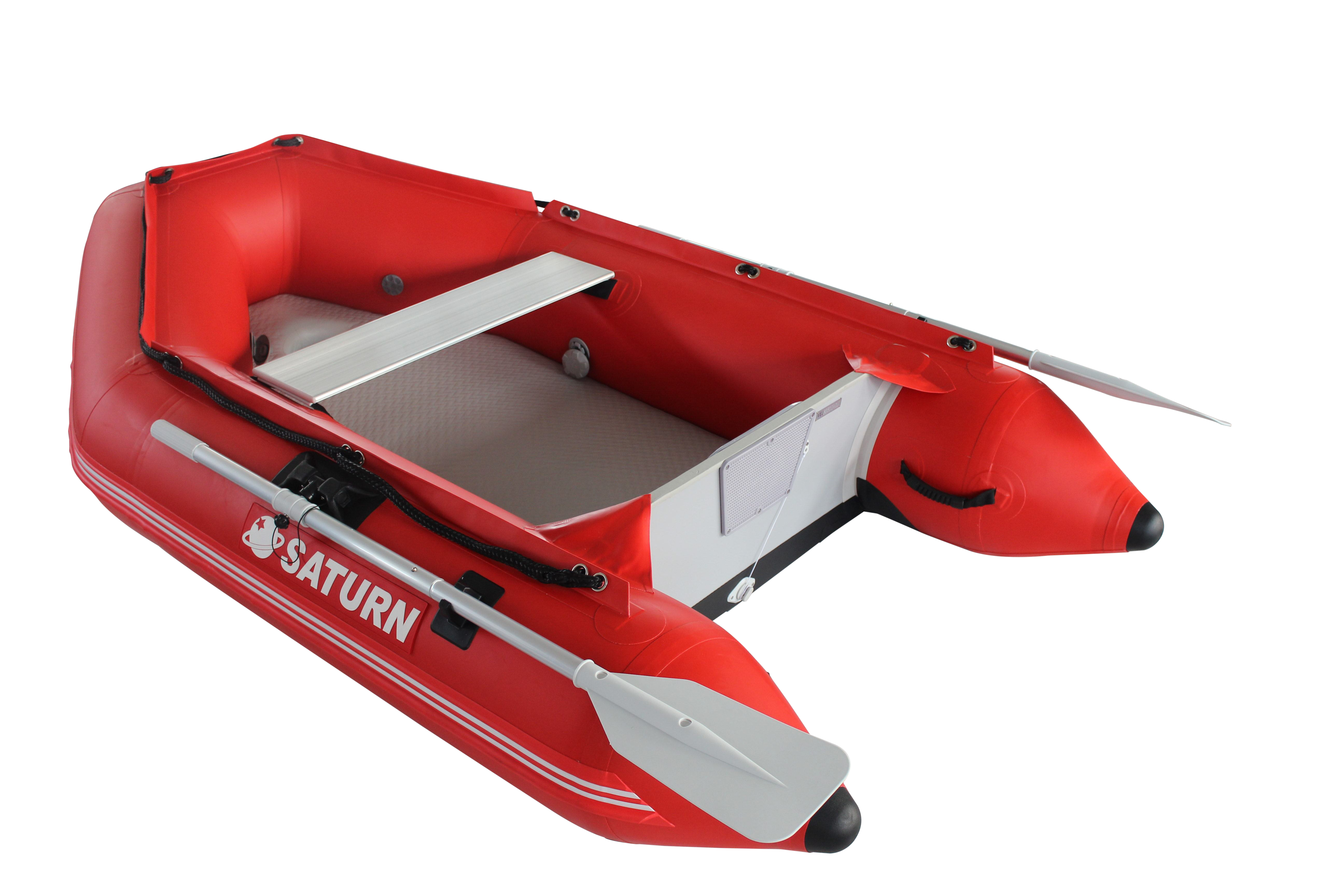 "7'6"" Saturn Dinghy - Red with Upgraded C7 Style Valves"