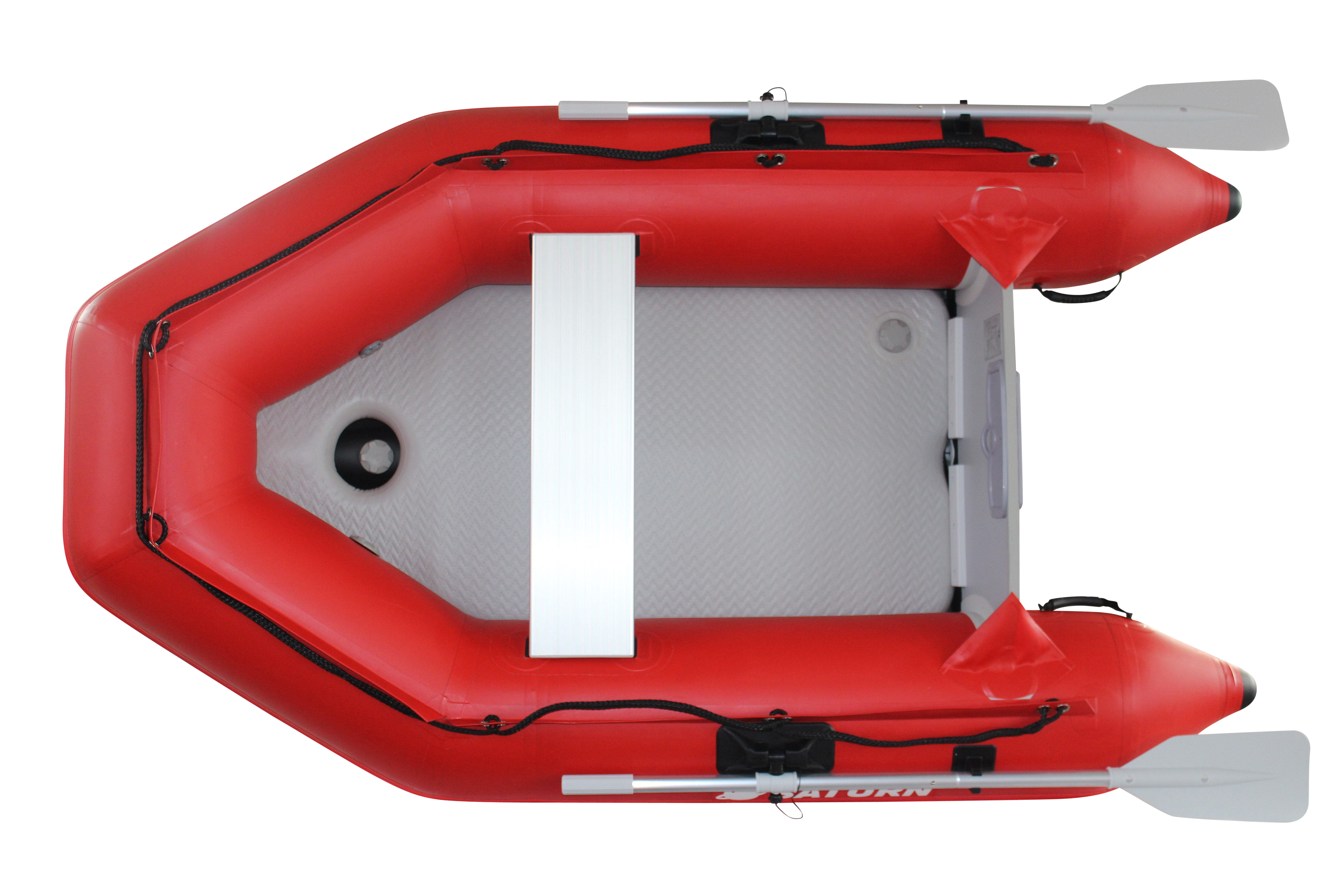 "2020 8'6"" Saturn Dinghy (SD260 Red) - Top View"