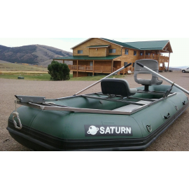 """12'6"""" Saturn Soloquest Whitewater Raft"""