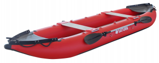 2021 14' Saturn Fishing Kayak FK430 - Side View