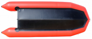 15' Saturn Inflatable SD460 Budget Boat - Red Bottom View