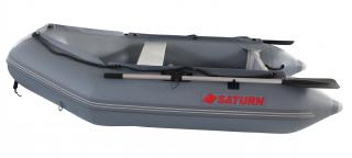 "2020 7'6"" Saturn Dinghy (SD230 ) - Dark Grey - Side View"