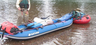 Customer Photo - 13' Saturn WW Kayak