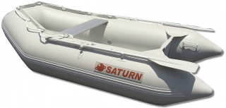 "8'6"" SS260 Saturn Dinghy - Slated Floor Design - Side View"