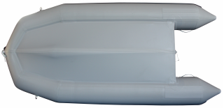 12.5' Budget Boat by Saturn - Grey Bottom View