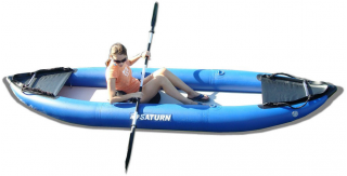 13' Saturn Inflatable Expedition Kayak - Tandem RK396 Model