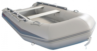 11.9' Budget Boat by Saturn - Grey Front View