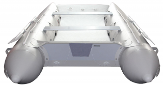 2021 12' Saturn Catamaran - Light Grey - Transom View