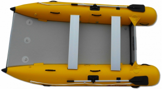 11' Saturn Inflatable Catamaran MC330 - Top View