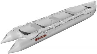 15' Saturn KaBoat SK470 - Light Grey