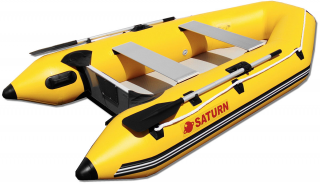 "Yellow - 9'6"" Saturn Dinghy SD290 Inflatable Boat"