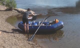 "9'6"" Saturn Whitewater Raft (RD290X BLUE)"
