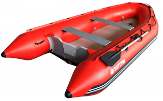 13' Saturn Dinghy SD385 with Air Floor Option - Side View