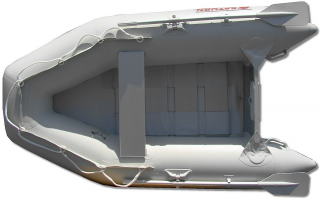 "8'6"" SS260 Saturn Dinghy - Slated Floor Design - Top View"