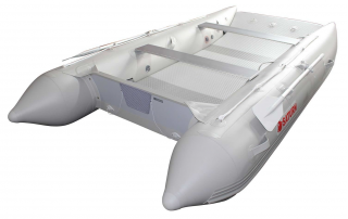 2021 12' Saturn Catamaran - Light Grey - Rear View