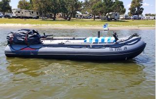 Customer Photo - 12' Saturn Inflatable Fishing Boat