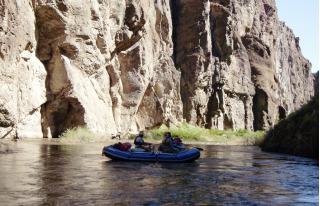 Customer Photo - 14' Saturn Whitewater Raft - Fishing The Canyon