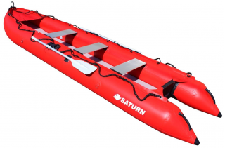 15' Saturn KaBoat SK470 - Red