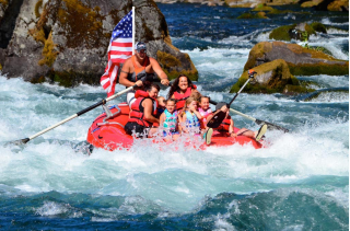 Customer Review Photo - 15' Saturn Whitewater Raft - One of our Commercial Guides - Travis Tubbs