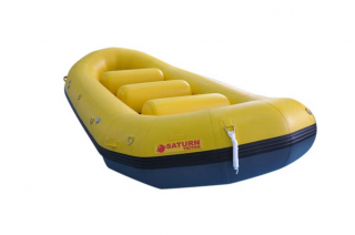 "14'8"" Saturn Triton Whitewater Raft - Yellow"