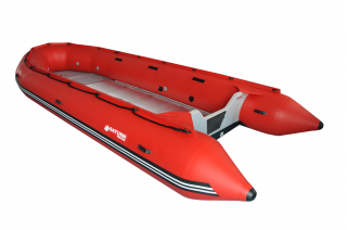 18' Saturn Triton Inflatable Boat - TR518 RED