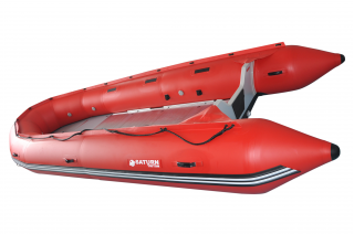 16' Saturn Triton Rescue Boat - TR488F RED