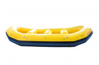 Yellow Saturn Whitewater Raft