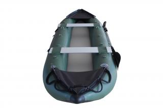 2021 Model 13' Saturn Fishing Kayak (FK396) - Green - Front View