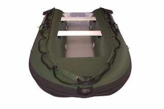 New 2020 13' Saturn Outfitter KaBoat - Hunter Green - New C7 Inflation Valves