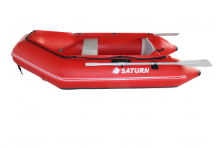 "2020 7'6"" Saturn Dinghy (SD230 ) - Red - Side View"