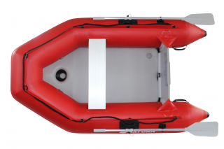 "2020 7'6"" Saturn Dinghy (SD230 ) - Red - Top View"