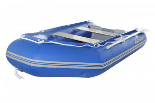 "9'6"" Saturn Dinghy SD290 Blue - Front View"